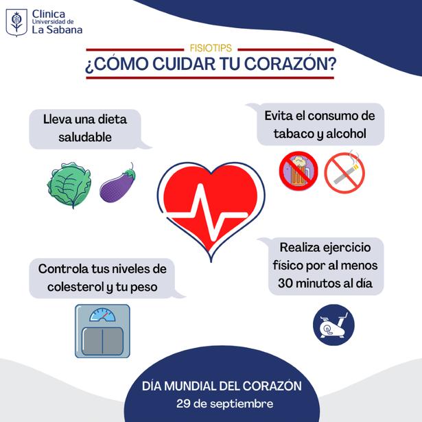 Recomendaciones para el cuidado del corazón